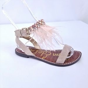 090bb32f9 Sam Edelman Shoes - Sam Edelman Genevia Feather Sandals Boho Festival